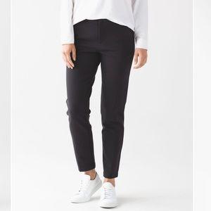 Lululemon Black City Trek Trouser (Ponte) Size 4